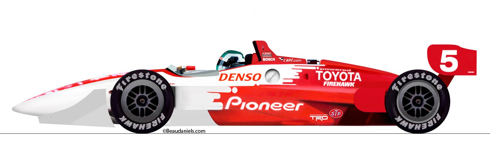 Technical illustration, Beau and Alan Daniels. - Toyota Race Car ...