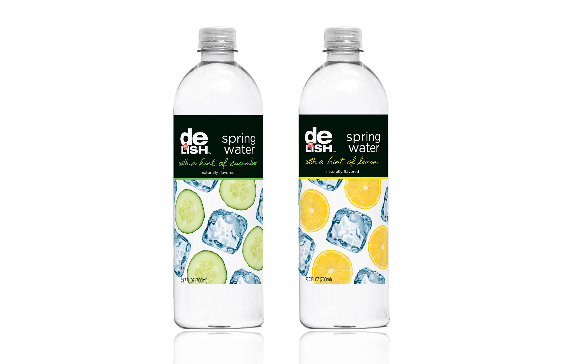 Mason Ping Graphic Design Flavored Water Packaging Delish